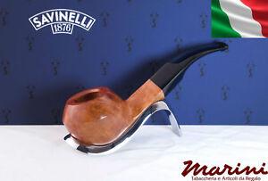 Smoking pipes pipe Savinelli 623 briar natural waxed wood made in Italy