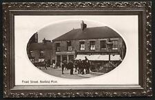 Annfield Plain. Front Street by J.W.Soulsby, Annfield Plain.