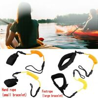 Stand Up Paddle Board Coiled Spring Hand Foot Rope Surfing Leash for Surfboard