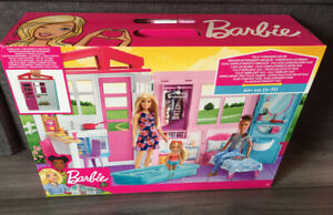 BARBIE House - Furniture and Accessories (FXG54) MATTEL - New