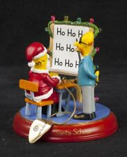 Simpsons Bradford Santa School Christmas lluminated Ornament 2004