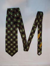 VALENTINO Cravatte Vintage (made in Italy) autentico Tie 100% Seta Silk Soie