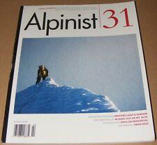Alpinist magazine #31 Summer 2010 Mountaineering Climbing