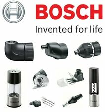BOSCH IXO Screwdriver SHOP (Complete Range of ADAPTERS & ACCESSORIES)