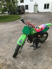 KAWASAKI KX 85 Motocross Bike Small Wheel 2 Stroke Motocross Bike 1990