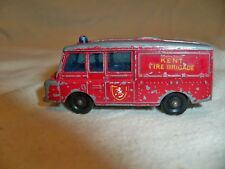 Vintage Lesney Matchbox Series No 57. Land Rover Fire Truck.Made in England