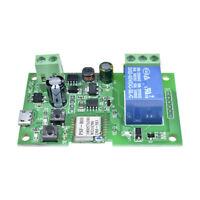 APP Access Control Self-lock/inching Mode Wireless Switch Relay Module Wifi