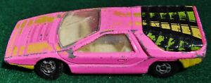 Vintage Lesney Matchbox Superfast Q Series Alfa Carabo #75 - 1970