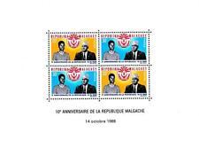 Madagascar 1968 Republic Anniv. S/s Mnh Sc#418a Arms