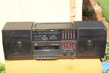 GE 3-5665B 3-piece 5-band Graphic Equalizer Cassette recorderView Stereo video