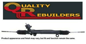 Rack and Pinion Complete Unit-Power Steering QUALITY REBUILDERS 21815