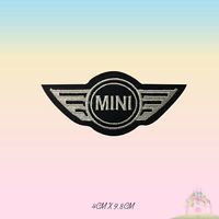 MINI Car Brand Logo Motor Sport Embroidered Iron On Patch Sew On Badge