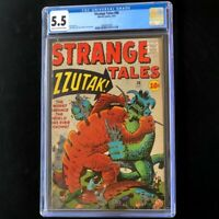 Strange Tales #88 (Marvel 1961) 💥 CGC 5.5 💥 Jack Kirby Monster Cover! Comic