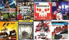 PS3 Spiele/ Playstation 3 Spiele / PS3 Games / (Große Auswahl, kleine Preise)