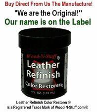 Leather Refinish Color Restorer® Were Copyright Original! 4oz Refill British Tan
