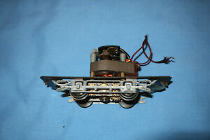 Trolley, streetcar Chassis Frame with Motor. O Gauge. Pittman