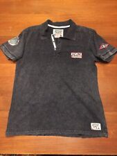 Large Affliction AC MC Loud And Fast American Customs Shirt Polo