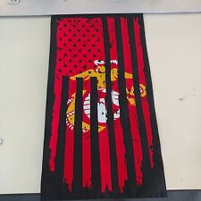 Custom Marine Usmc Flag military