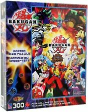 """Bakugan Battle Brawlers Puzzle -POSTER SIZE PUZZLE 24"""" X 36""""  & POSTER INCLUDED"""