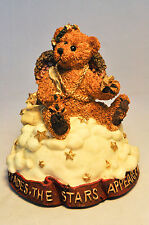 Boyds Bears: Clarence Angel Bear - 27530 - When You Whish Upon A Star - MusicBox