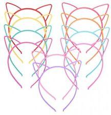 EBOOT Chat Oreille Bandeaux Plastique Chat Hairband chat nœud catogan Pack De 10 UK