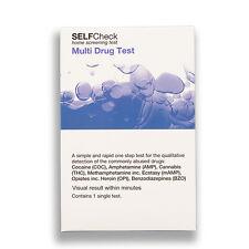 Multi Drug Cannabis Opiates Cocaine Single Test Kit