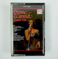 Dionne Warwick Cassette Greatest Hits