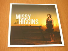 MISSY HIGGINS - ON A CLEAR NIGHT - RARE AUSTRALIA PROMO CD 11 TRACKS CARDSLEEVE