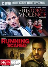 A History Of Violence  / Running Scared (2007 2-Disc Set) Brand new Genuine D82