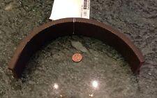 Non metallic channel 1 1/2 x 3/8 x 12 cork coated 1 1/4 x 0.05 sheet metal edge