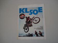 advertising Pubblicità 1973 MOTO GARELLI KL 50 E