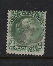 Canada   24   used  stamp  catalog  $95.00