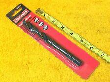 Nuovo 9/40.6cm x 15.2cm Craftsman 66050 HSS Nero Ossido 1.3cm Ridotto Codolo Po