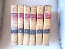 Oeuvres Choisies de Massillon, 6 tomes, chez Delestre-Boulage