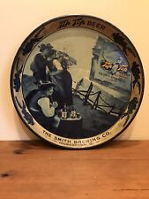 Tip Top Beer Tray Smith Brewing Co Youngstown Rare Vintage 12 inch