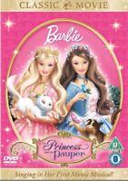 Barbie - la Princesa And The Pauper DVD Nuevo DVD (8228596)