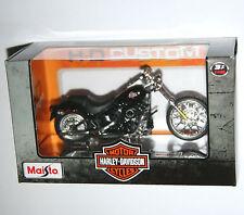 Maisto - Harley Davidson 2002 FXSTB NIGHT TRAIN Model Scale 1:18