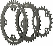 New Race Face 10-Speed Evolve Chainring Set 104mm 24/32/42 Black