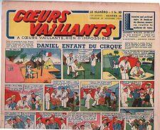 COEURS VAILLANTS 1942 n°48. Hergé. Tintin Le crabe aux Pinces d'Or.