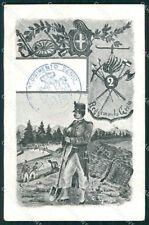 Militari II Reggimento Genio cartolina XF0636