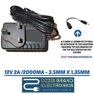 12V 2A AC-DC Switching Adapter Power Supply Charger For Geobook3 Geobook 3