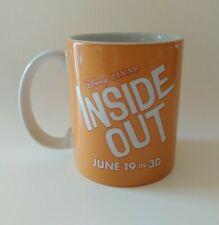 RARE PROMOTIONAL DISNEY PIXAR INSIDE OUT COFFEE MUG LOVE JOY and CAFFEINE MOVIE