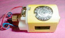 9 Volt Yellow Royal BobCat 36D Mabuchi Motor 10 Tooth Brass Pinion K & B NOS