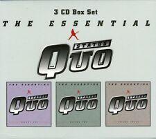 STATUS QUO THE ESSENTIAL 3 CD NEW