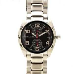 AUTHENTIC MAXUM MEN'S TRENDY LENNOX WATCH X1017G1 CHRONOGRAPH RRP:$169 Brand New