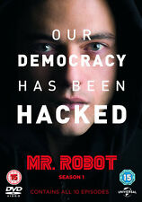 Mr. Robot Season 1 DVD TV Series Original UK R2 15 Universal Pictures