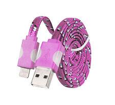 USB LED Ladekabel für Apple iPhone SE 5S 6 6s 7 8 X XS XR iPad Air Pro Pink Rosa