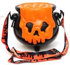 New Disney Parks Halloween 2020 Orange Poison Apple Cauldron Popcorn Bucket