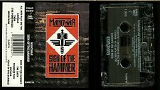 Manowar Sign Of The Hammer USA Cassette Tape Grand Slamm