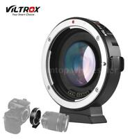 VILTROX EFM2 FOCAL REDUCER BOOSTER AUTO FOCUS ADAPTER CANON EF MOUNT to M4/3 MFT